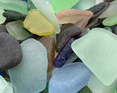 Large Sea Glass Authentic from Florida Beaches Real Tumbled Beach Glass Bulk 20-100 Pieces Seaglass FREE SHIPPING