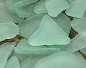 Sea Foam Green Light Aqua Sea Glass Authentic from Florida Beaches Real Ocean Tumbled Beach Glass Bulk 10-200 Pieces Crafts FREE SHIPPING