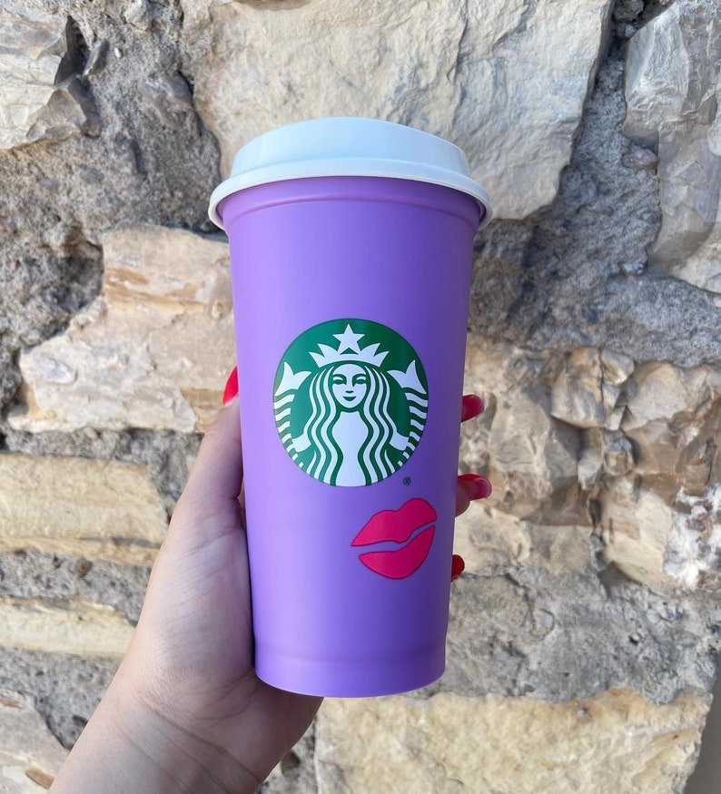 Valentines Hot Cup Color Changing Hot Cup Starbucks Valentines Hot Cup