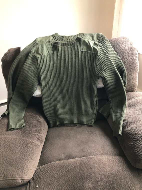 Military Wool Sweaters Used