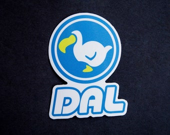 Indoor Outdoor Car Bumper Animal Crossing DAL Dodo Vinyl Decal Sticker