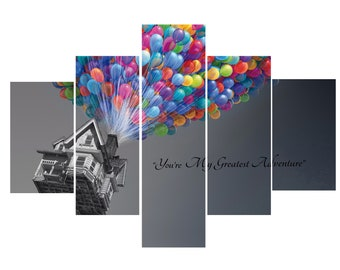 Glass Wall Art Print Photo Frame-London 40 x 60 cm Multi-Coloured Home Decor