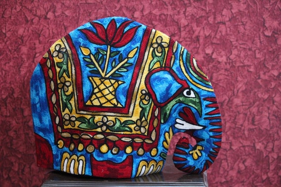 Free Shipping Elephant Quilted Tea Cozy Embroidered Etsy