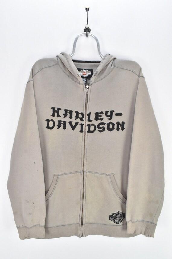 VINTAGE HARLEY DAVIDSON hoodie | large