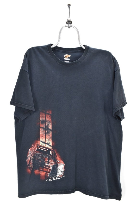 VINTAGE NASCAR BLACK t-shirt | xxl