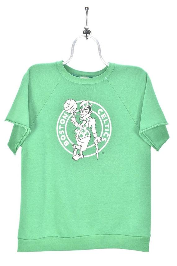 VINTAGE NBA BOSTON celtics green t-shirt | large