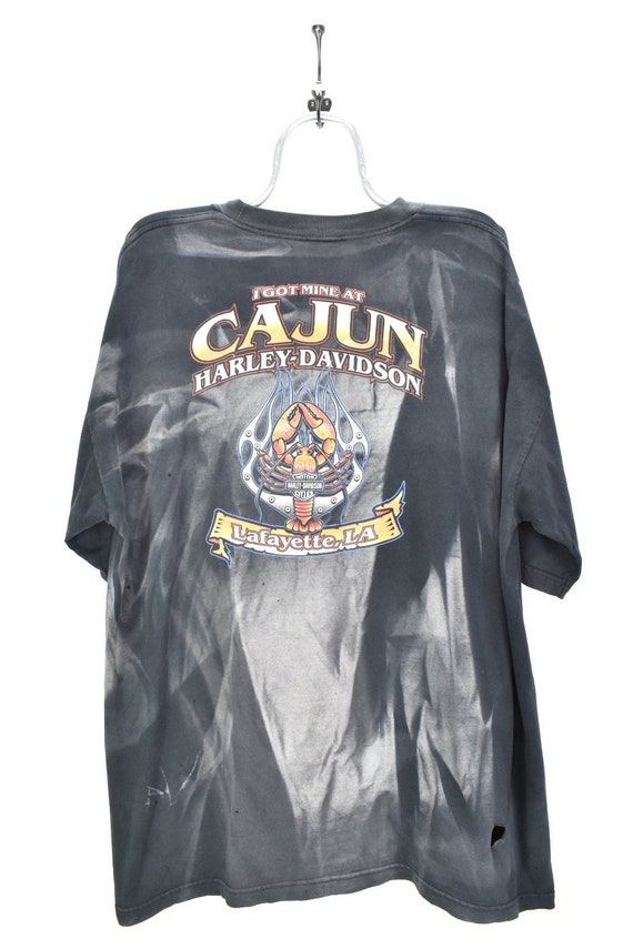 VINTAGE HARLEY DAVIDSON black t-shirt   xxxl
