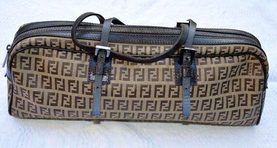 FENDI Authentic Bag - Fendi Handbag - Fendi Zucchi