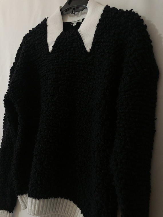 Woman Kenzo boucle sweater / pullover, size M