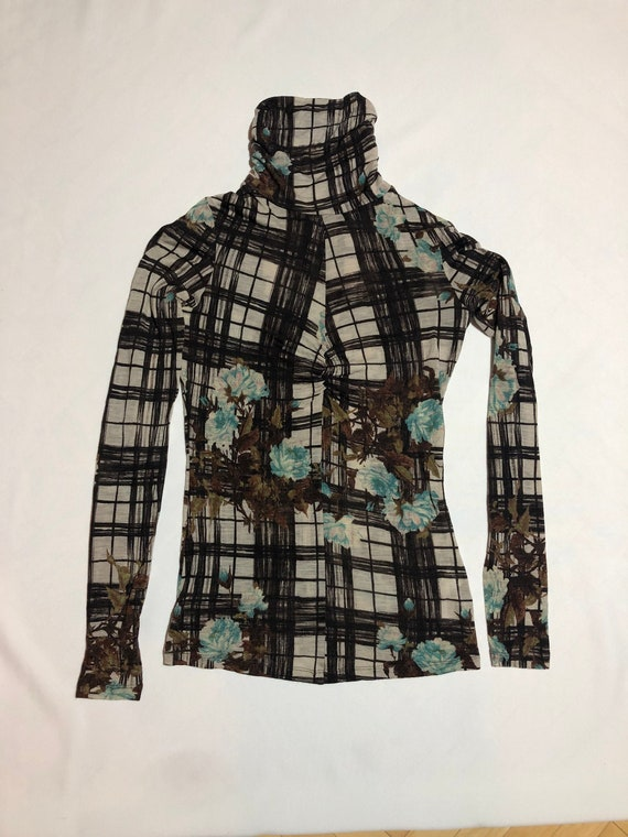 Rare Abstract Kenzo turtleneck / blouse / sweater