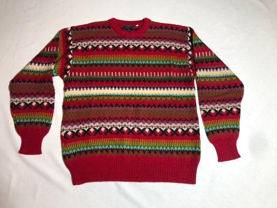 Vintage Kenzo Homme Sweater, lana+alpaca