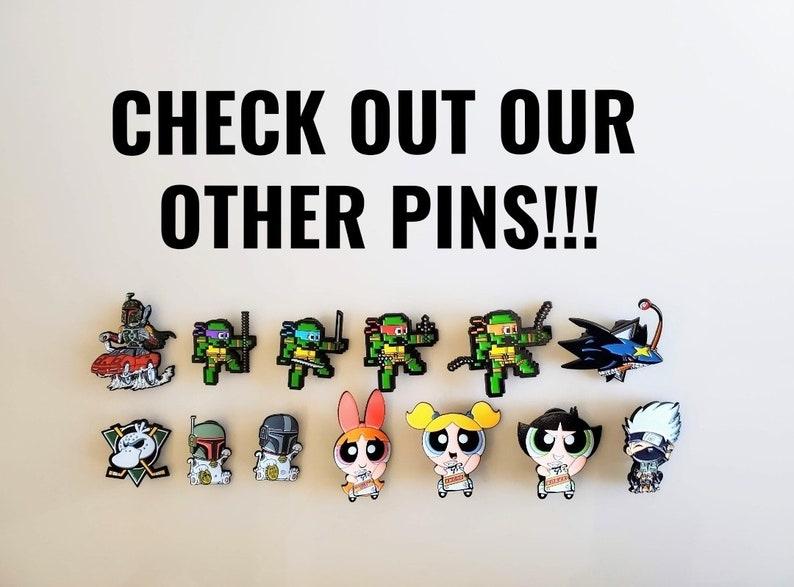 Aesthetic Pins Power Puff Girls Enamel Pin Custom Enamel Pins Cartoon Pin Cute Pins Cute Gifts Girl Power Pins Buttercup Pin for Jacket