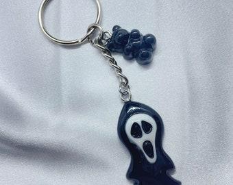 Boo the Ghost Dangle Keychain