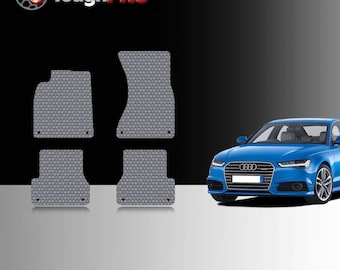 ToughPRO Floor Mats BLACK For Acura TSX All Weather Custom Fit 2004-2008