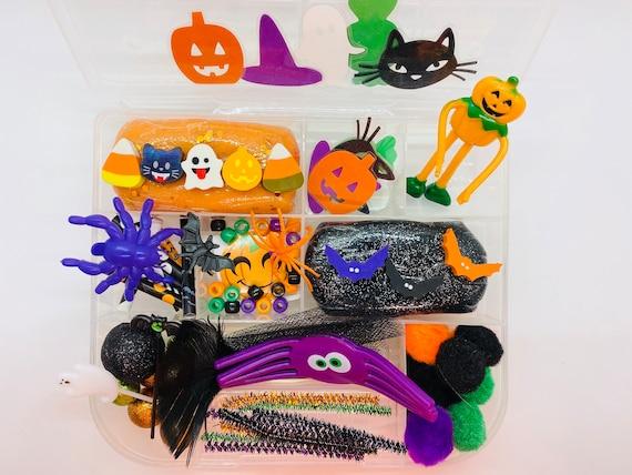 Trick or Treat Box Halloween Busy Box Halloween Sensory Kit