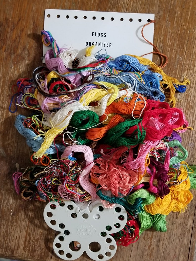 Embroidery Floss many colors Thread Key Organizers Floss Organizers