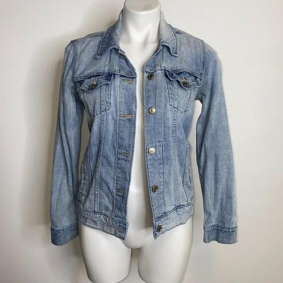 Vintage Levi's Distressed Jean Jacket Y2K 90s Clot