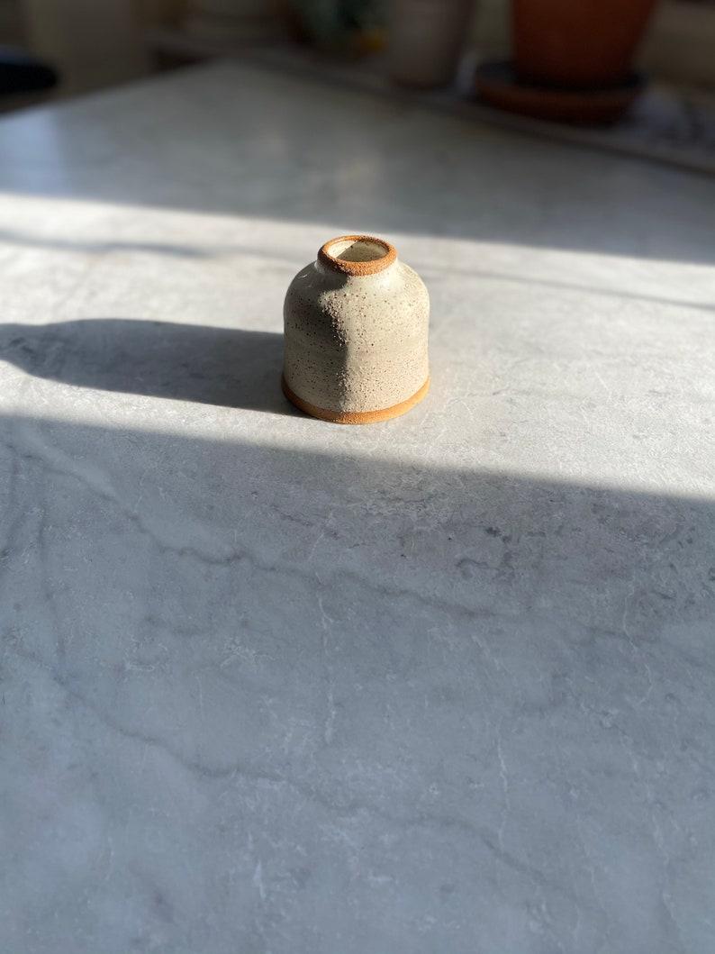 - Handmade Ceramic Bud Vase In Stock SECONDS glaze imperfections