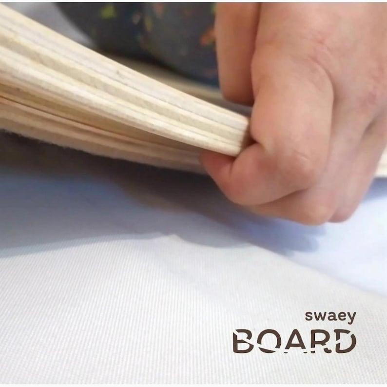 SAFE FOR FINGERS rockerboard balanceboard Wooden rocker board Kids balance board Waldorf board Yoga board Wooden Toys Gift for Kids Eco