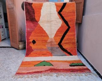 moroccan rug,moroccan rug khamsadesign Custom rug moroccan rug,berber rug,vintage rug,handmade rug,beni ourain rug,oriental rug