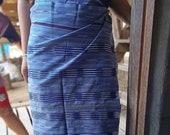 Hand Woven Karen Skirt/Fabric