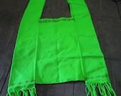 Hand Woven Green Karen Style Bag