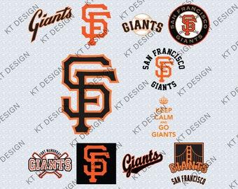 San Francisco Giants Svg Etsy