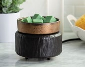 Black and Bronze Wax Warmer, Electric Wax Melt Warmer, Bundle, Home Décor, Gift for Her, Mother 39 s Day Gift, Gift for Mom, Soy Wax Warmer