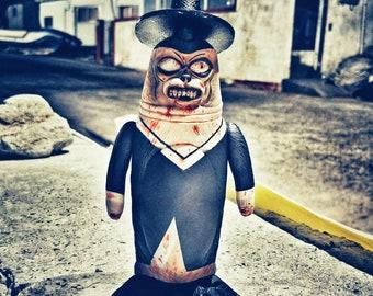 Death Zombie SEALMON - art toy, designer toy, sofubi toy, soft vinyl toy, sofvi toy