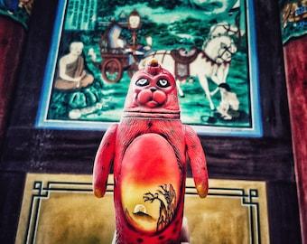 SEALMON Folk painting - art toy, designer toy, sofubi toy, soft vinyl toy, sofvi toy