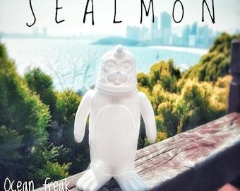 SEALMON Blank Toy - art toy, designer toy, sofubi toy, soft vinyl toy, sofvi toy