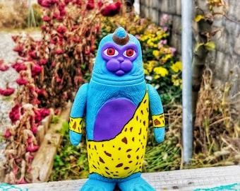 Blue Goblin SEALMON - art toy, designer toy, sofubi toy, soft vinyl toy, sofvi toy