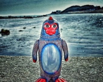 Monkey magic SEALMON - art toy, designer toy, sofubi toy, soft vinyl toy, sofvi toy