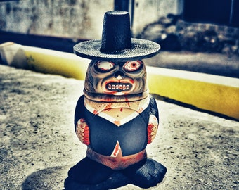 Baby Death Zombie SEALMON - - art toy, designer toy, resin toy