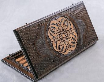 BACKGAMMON ARMENIAN - Ornaments / personalized backgammon, Fathers Day Gift