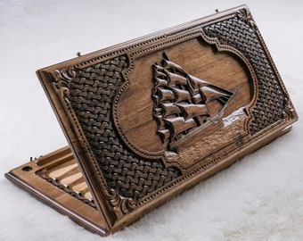 BACKGAMMON SET - Personalized / classic backgammon