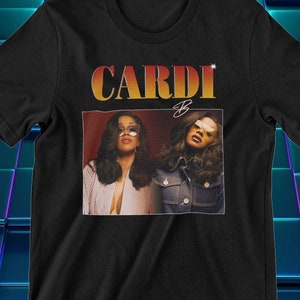 Kinda Holy Funny Graphic Tee Cardi B Shirt Hood and Holy Somewhere between Proverbs 31 /& Cardi B Women\u2019s Graphic T-Shirt Kinda Hood