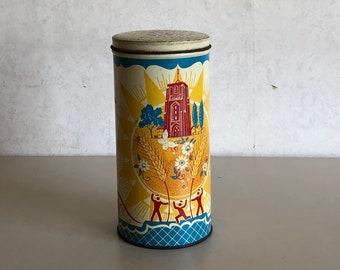 Rusk tin - Vintage - Turkstra Rusk