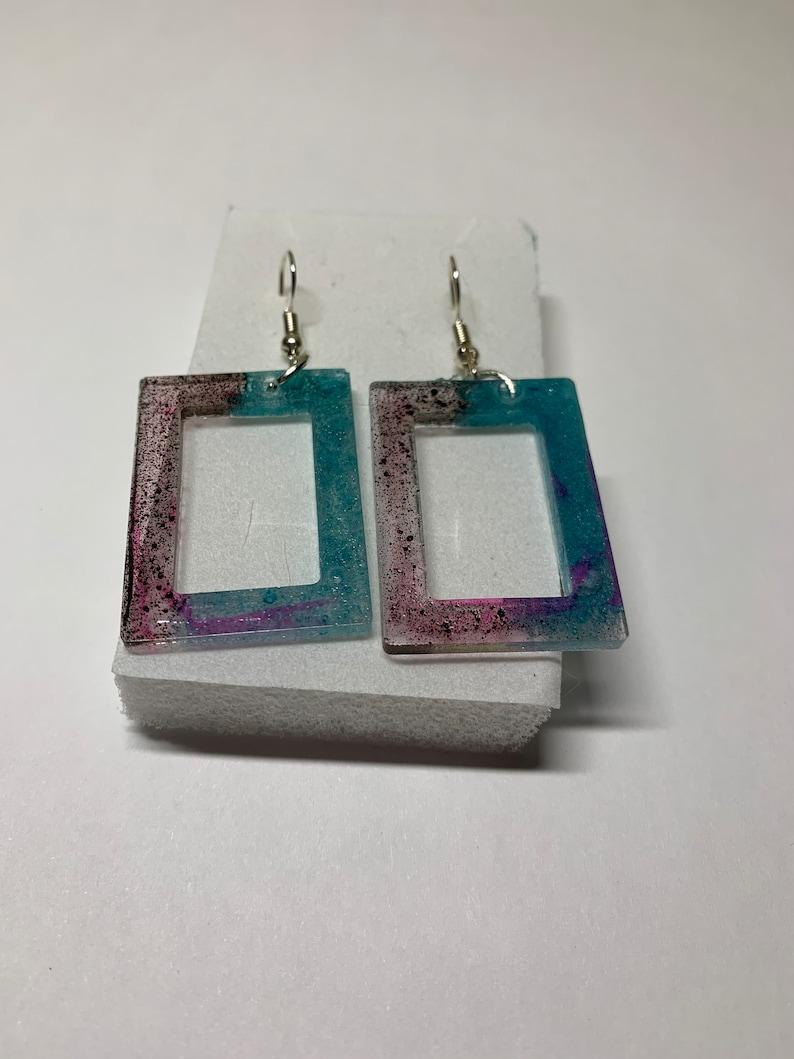 Isabelle\u2019s Creative Resin Earrings