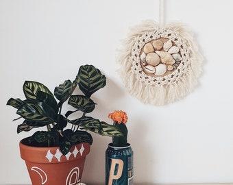 Macrame Boho Shell Wall Hanging Home Accessories Beach Style Nursery Decoration Homewares Seashells Bohemian Decor