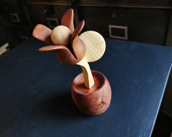 """"""" Wooden Flower """""""