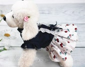 Summer Pet Dress Clothes Cat Doggy Princess Skirt Cat Dog Teddy Denim Skirt Spring Fashion Jean Pet Clothes