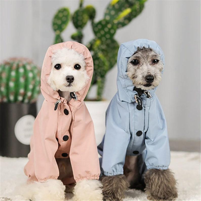 Dog Clothes Waterproof Dog Jacket For Large Dogs Bulldog image 0