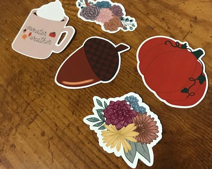 Autumn Vibes Sticker Bundle