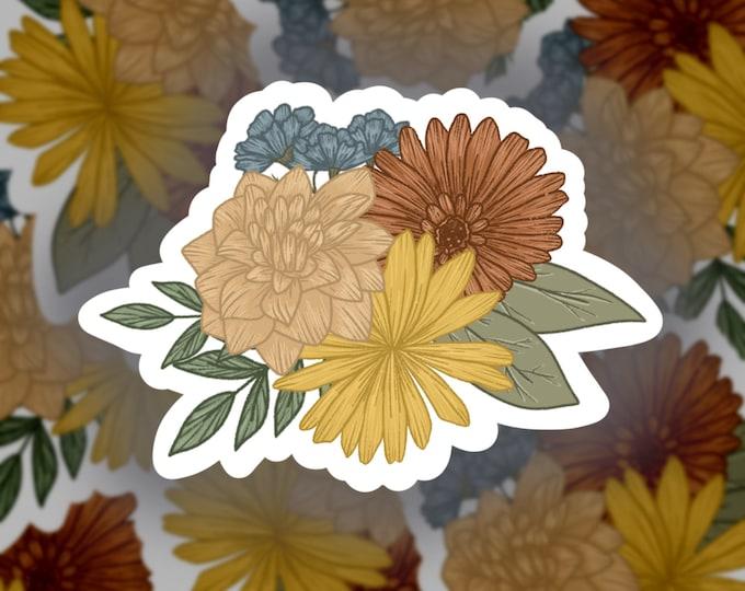 Fall Florals Sticker