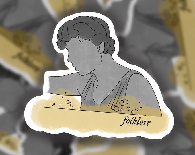 Folklore Piano Sticker