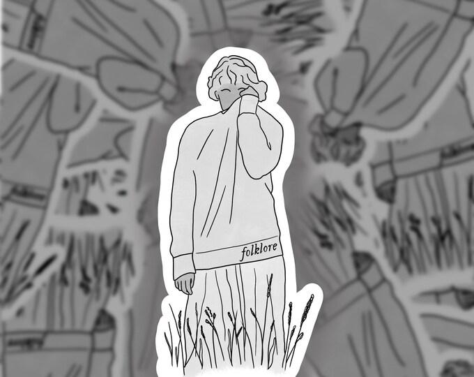 Folklore Weeds Sticker