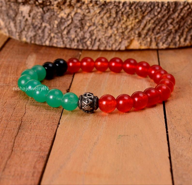 Onyx Bracelet,Gemstone Bracelet,Boho Bracelet,Beaded Bracelet,Hippie Jewelry,Gift Bracelet,Women Jewelry