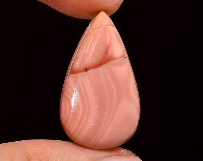 30X17X5 mm Marvellous Top Grade Quality 100/% Natural Australian Pink Opal Pear Shape Cabochon Loose Gemstone For Making Jewelry 16 Ct