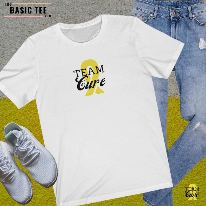 Team Cure Shirt White